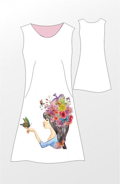 Stenzo Digital Jersey Bordüre Blumenfrau