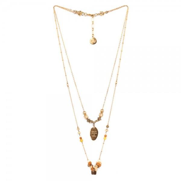 Halskette Amandine 2 in 1 Kette von Franck Herval