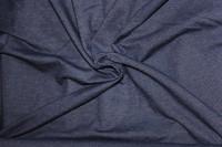 Jersey Stoff in Jeansoptik, Denim blau / anthrazit