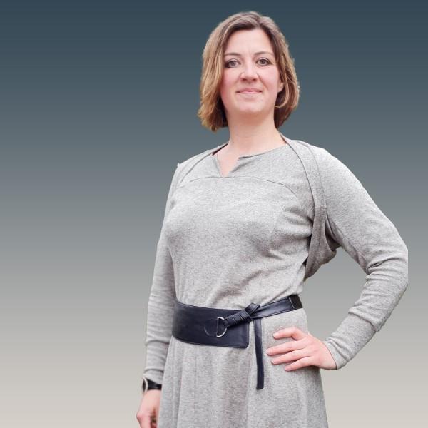Rihana Wende - Hüft - Gürtel Schnittmuster als Papierschnitt