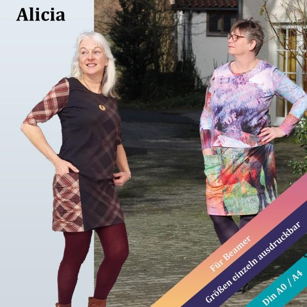 Rockschnitt Alicia mit großer Tasche als eBook