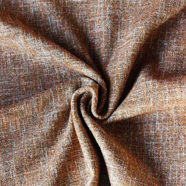 Fest gewebter Chanel Stoff in beige / natur / orange /grün Tönen
