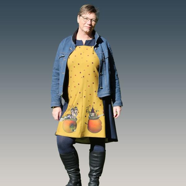 Kleider - Tunika Schnittmuster Ginger von 32 -54 als Papierschnittmuster