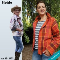 Heide Oversize Kimonojacken Schnittmuster als PDF