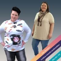 Bellis Curvy Basic - Shirt Schnittmuster von 44 - 60 als eBook
