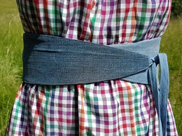 Rayen Taillen- Wickel- Wendegürtel als Papierschnitt