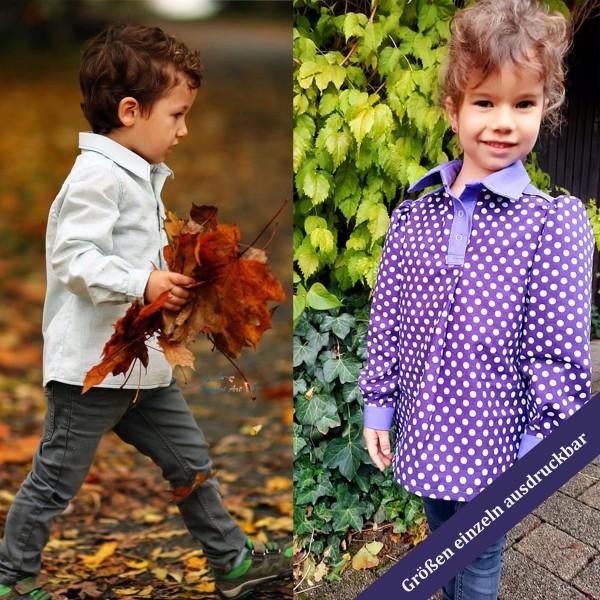 Kinder Blusen oder Hemden Schnittmuster ArianeMini 92 - 134 als eBook