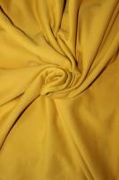 Sweat Stoff aus 100 % Bio Baumwolle in Uni Gelb