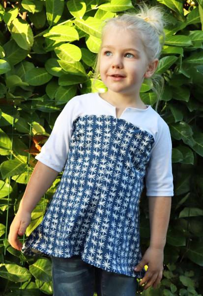 Kinderkleid - Tunika Schnittmuster GingerMini von 74 - 158 als eBook