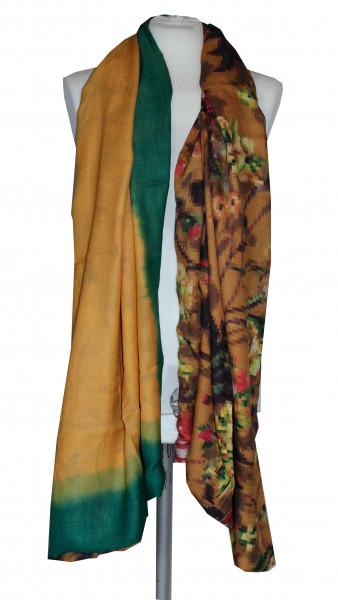 Floraler Woll/SeidenSchal von Ahmaddy
