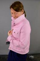 Jeansjackenschnitt Linnea mit Kappnähten von 32 - 56 als Papierschnitt