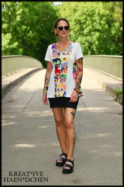 Bahnenkleid Schnitt Jasmin auch als Top Shirt Tunika Maxikleid als eBook 32 - 56